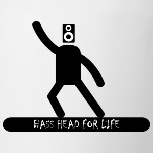 Bass Head For Life T-Shirts - Coffee/Tea Mug