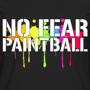 No Fear Paintball T-Shirts - Men's Premium Long Sleeve T-Shirt