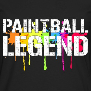 Paintball Legend T-Shirts - Men's Premium Long Sleeve T-Shirt