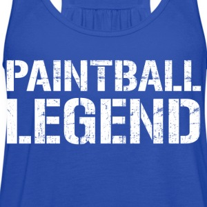 Paintball Legend Hoodies - Women's Flowy Tank Top by Bella
