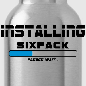 installing sixpack T-Shirts - Water Bottle