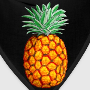 Pineapple in Color Women's T-Shirts - Bandana