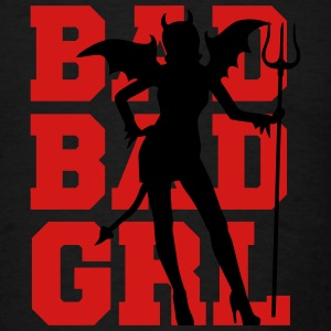 Bad Bad Girl Tanks - Men's T-Shirt