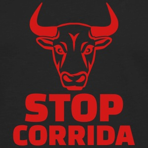 Stop corrida Kids' Shirts - Men's Premium Long Sleeve T-Shirt