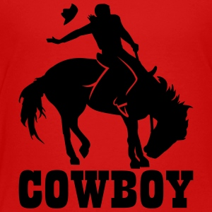 Cowboy Kids' Shirts - Toddler Premium T-Shirt