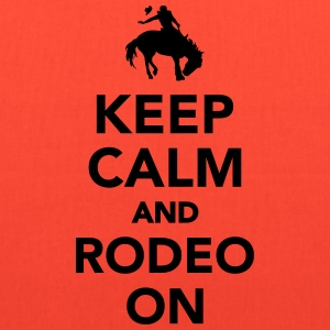 Keep calm and rodeo on T-Shirts - Tote Bag