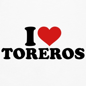 I love Toreros Mugs & Drinkware - Men's Premium Long Sleeve T-Shirt