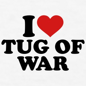 I love Tug of war Mugs & Drinkware - Men's T-Shirt