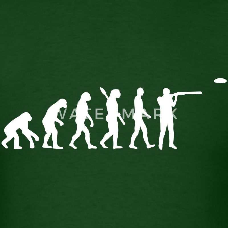 Evolution trap shooting T-Shirts - Men's T-Shirt