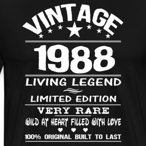 VINTAGE 1988 Hoodies - Men's Premium T-Shirt