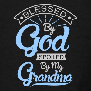 Spoiled By Grandma Baby Bodysuits - Men's T-Shirt