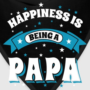 Happiness Is Being a Papa Hoodies - Bandana