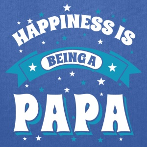 Happiness Is Being a Papa Hoodies - Tote Bag