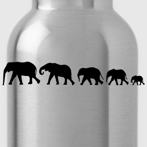 elephant family XXL Shirt - Water Bottle