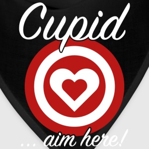 Cupid Aim Here - Bandana