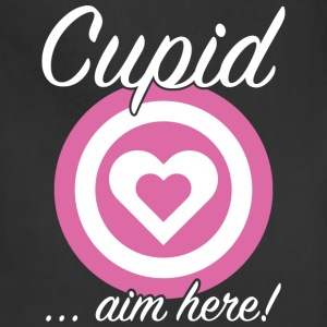 Cupid Aim Here - Adjustable Apron