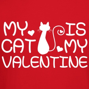 My Cat Is My Valentine - Crewneck Sweatshirt