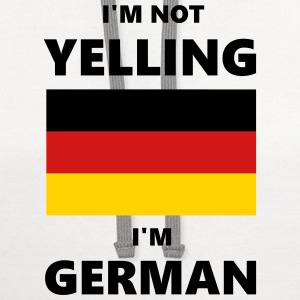 I'm Not Yelling, I'm German - Contrast Hoodie