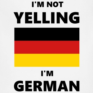 I'm Not Yelling, I'm German - Adjustable Apron