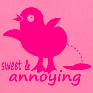 sweet & annoying chick - Tote Bag