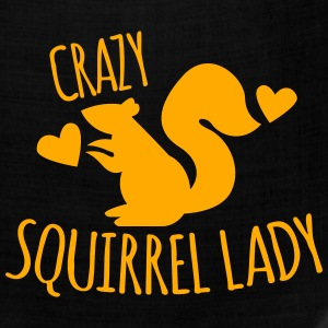 Crazy Squirrel Lady Women's T-Shirts - Bandana