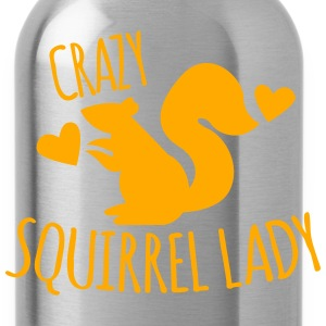 Crazy Squirrel Lady Long Sleeve Shirts - Water Bottle