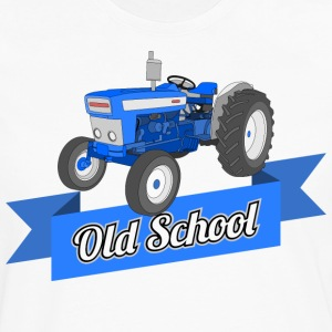 Old School Tractor Tee - Men's Premium Long Sleeve T-Shirt