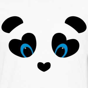 panda transparent T-Shirts - Men's Premium Long Sleeve T-Shirt