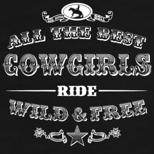 Cowgirls white Mugs & Drinkware - Men's Premium T-Shirt