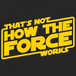 THE FORCE WORKS Baby & Toddler Shirts - Men's Premium Long Sleeve T-Shirt