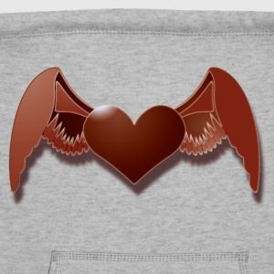 angels heart T-Shirts - Sweatshirt Cinch Bag