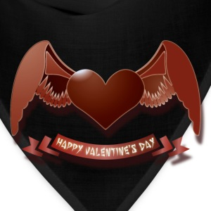 Happy Valentine's Day T-Shirts - Bandana