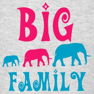 Big elephant family Sweatshirts - Men's T-Shirt