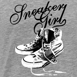 Sneakers Black/White Tanks - Men's Premium T-Shirt