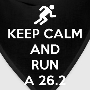 Keep Calm and Run a 26.2 - Bandana