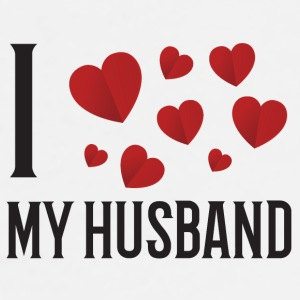I Love My Husband - Men's Premium T-Shirt