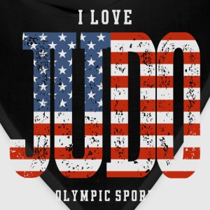 I Love Judo USA T-Shirts - Bandana
