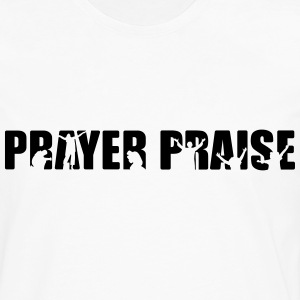PRAYER PRAISE - Men's Premium Long Sleeve T-Shirt