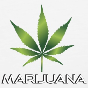 Marijuana pot leaf - Men's Premium Tank