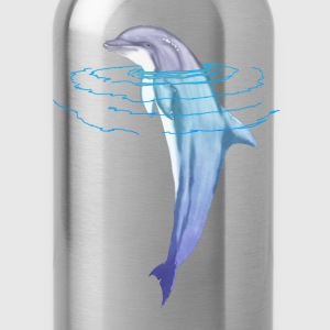 Swimming Dolphin - Water Bottle