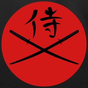 Japanese Katana and Samurai Kanji T-Shirts - Eco-Friendly Cotton Tote