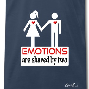 couples-emotions-wht Tanks - Men's Premium T-Shirt