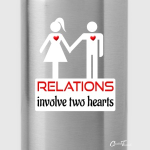 couples-relations-wht Tanks - Water Bottle