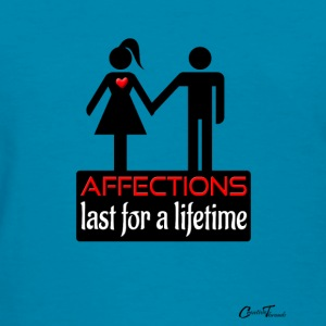 couples-affection-blk Tanks - Women's T-Shirt