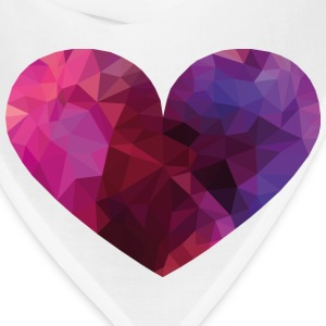 Polygon Heart Phone & Tablet Cases - Bandana