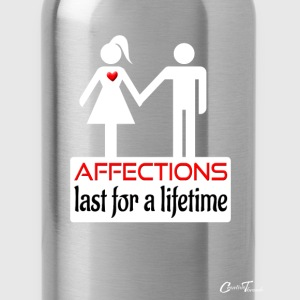 couples-affection-wht Hoodies - Water Bottle