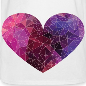 Polygon Heart Strokes Baby & Toddler Shirts - Men's Long Sleeve T-Shirt