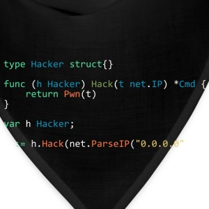 type Hacker struct{} (Black) - Bandana