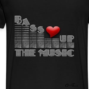 equalizer-bassup Hoodies - Men's Premium T-Shirt