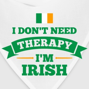 No Therapy I'm Irish Women's T-Shirts - Bandana